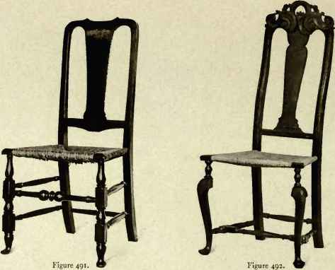 Chair Showing Dutch Influence, 1710 20. Chair Showing Dutch Influence, 171»  20.