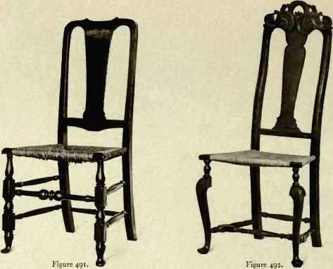 Chair Showing Dutch Influence, 1710 20. Chair Showing Dutch Influence, 171»  20.