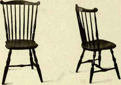 English Comb Back Windsor Chair Info