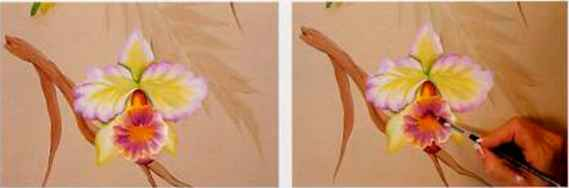White Orchid Paintings
