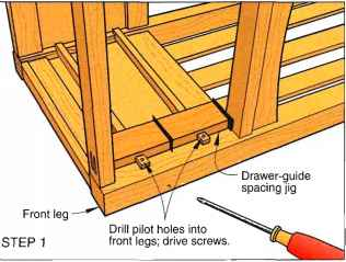Drawer Guide Jigs
