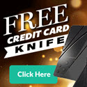 Free Credit Card Knife Offer Converts 13.3 Percent - Survival Life