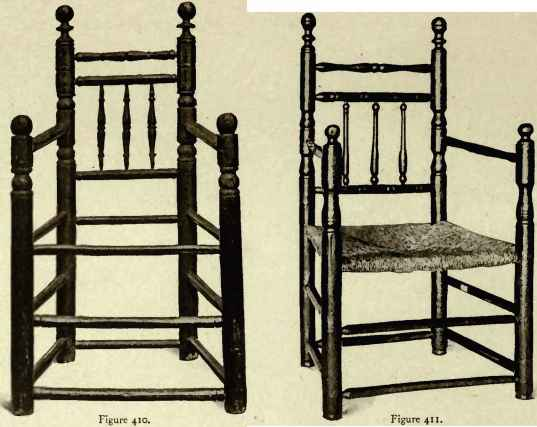 Colonial Table Chair Styles
