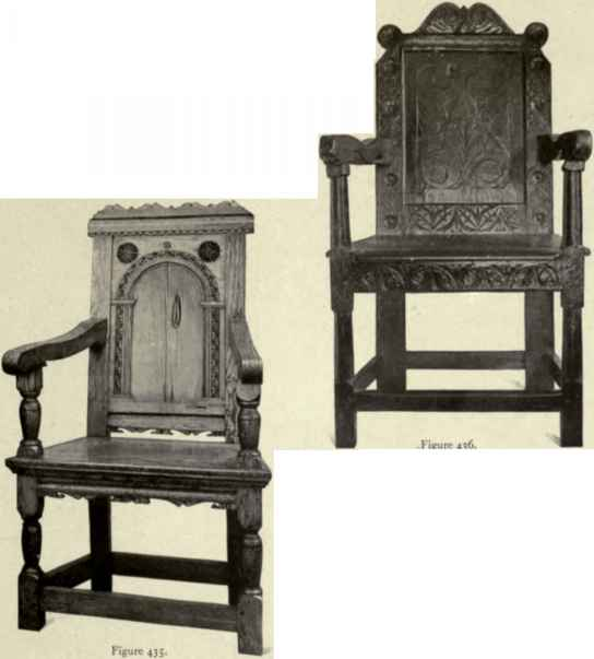 English Colonial Period Wainscot Chair