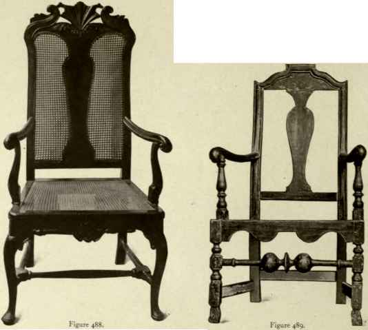 Jacobean Chair Cabriole