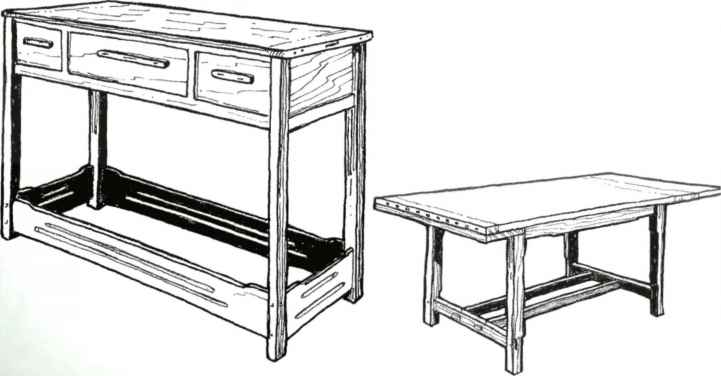 Furniture Making Cad Dwg