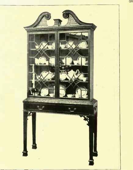 Chippendale Secretaire Cabinet Stand