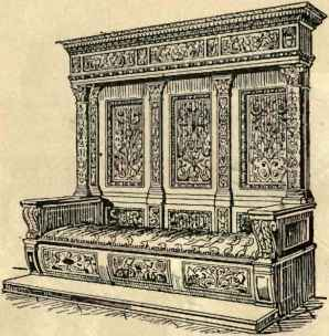 Renaissance Era Furniture Faces Dresser