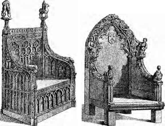 Furniture The Middle Ages