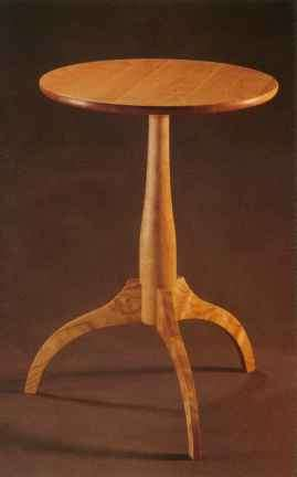 Shaker Furniture Candle Stand