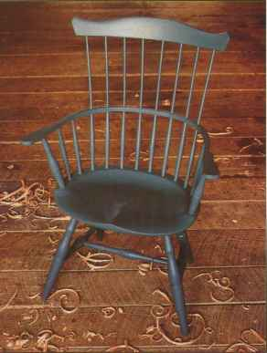 Colonial Settlees And Wing Back Chairs