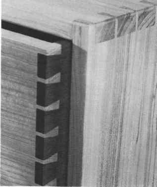 Dovetails Chamfered