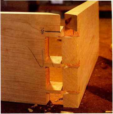 Mitered Through Dovetail