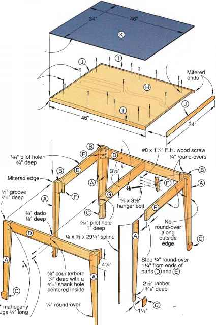 Mounting Foundation Framing