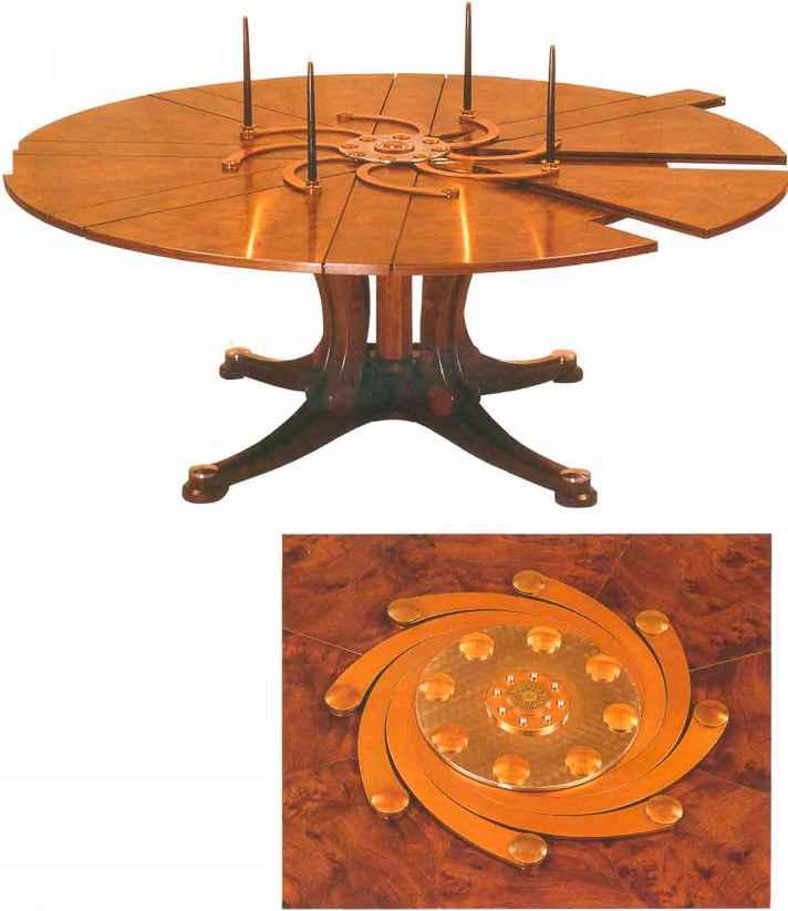modern furniture making. simple furniture expanding table capstan to modern furniture making