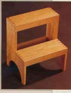 Anatomy Of A Step Stool Shaker Furniture Furniture