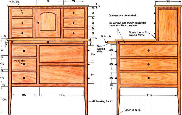 shaker casework traditional furniture furniture